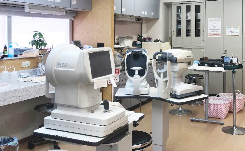 京都市の眼科かかりつけ医のつかもと眼科の検査