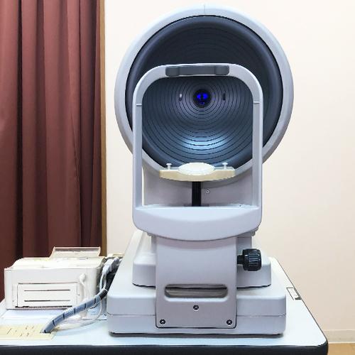 眼科診察の角膜形状解析装置